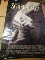 SCHINDLER'S LIST  1993  original 27x40 rolled Movie Poster - SPIELBERG, L.NEESON
