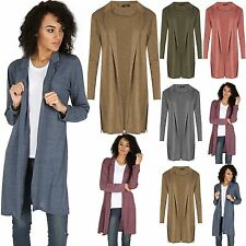 Polyester Long Jumpers & Cardigans for Women