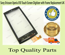 Sony Ericsson Xperia X10 Touch Screen Digitizer Black with Frame Replacement UK