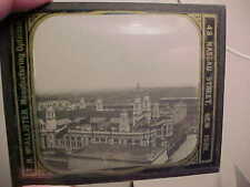 1893 WORLDS COLUMBIAN EXPOSITION Glass LANTERN SLIDE-LIBERAL ARTS BUILDING