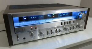 PIONEER SX-3800 WORKS PERFECT FULLY SERVICED PART RECAPPED + LED UPGRADE