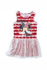 Disney Minnie Mouse Toddler Girl's Sleeveless Dress With Lace Overlay Size 2T