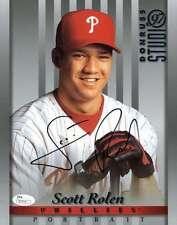 Scott Rolen Jsa Phillies Authentic Hand Signed 8x10 Photo Autograph Phillies