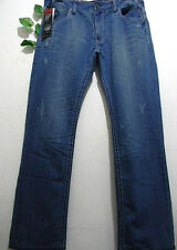 Xios NY 100% Cotton Blue Modern Slimt Jeans Size 36 W  34 L  NEW