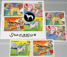 SOMALIA 2003 unlisted set + Block Rassehunde Hunde Pedigree Dogs Fauna Tiere MNH