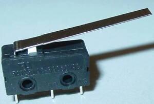 Mikroschalter, Mikrotaster mit extra langem Hebel, Mikrotaster, 250V/3A, S67S