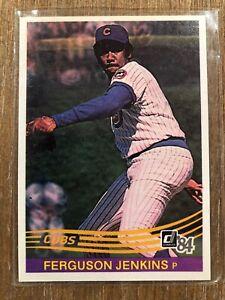 1984 Donruss   #189  Fergie Jenkins Chicago Cubs  NrMt