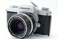 Nikon Nikomat FTN 35mm SLR Film camera with Nikkor 50mm f/2 standard Lens JAPAN