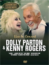 Dolly Parton and Kenny Rogers: Live in Concert  DVD NEW