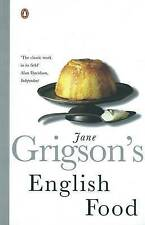 English Food by Jane Grigson (Paperback, 1998)