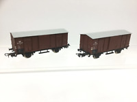 Piko HO Gauge DR Covered Goods Wagon 02-34-97 x2