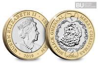 *RARE* 2019 IOM £2 Coin Father Christmas, Santa Coin Hunt Sealed XMAS STOCKING