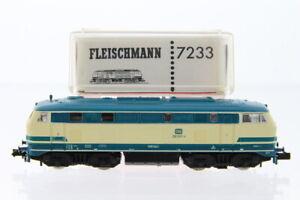 N Fleischmann 7233 DB 218 907-4 Diesellok analog +OVP/J60