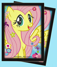 MY LITTLE PONY 65 FLUTTERSHY DECK PROTECTOR Ultra Pro Card Sleeves MLP Butterfly
