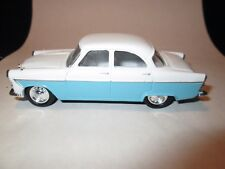 Corgi Ford Zodiac MK2 - Baby Blue and White