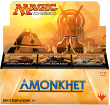 IN-HAND GERMAN Magic MTG AMONKHET AKH FACTORY SEALED Booster Box the Gathering
