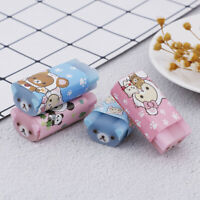 1x Cartoon animal mini cute eraser for kid rubber for pencil stationery suppl FT