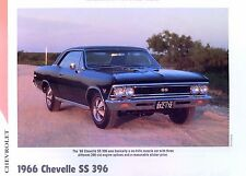 1966 Chevrolet Chevelle SS 396 ci 375 L34 L35 L75 info/specs/photo/prices 11x8
