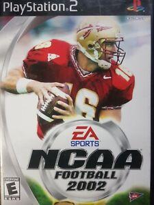 NCCA Football 2002 PS2