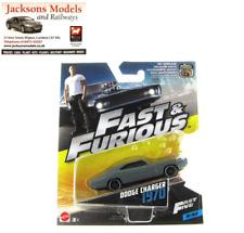 Hot Wheels FCF44 Doms 1970 Dodge Charger Primer Grey Fast & Furious 1:55 Mattel