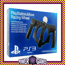 PlayStation Move: Racing Wheel PS3 Sony PlayStation 3 Brand New FREE REGISTERED