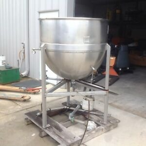Lee 150 Gallon Jacketed Kettle / Tank