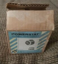 NOS SUPERIOR ELECTRIC TYPE 10 B POWERSTAT VARIABLE TRANSFORMER