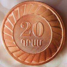 2003 ARMENIA 20 DRAM - AU/UNC - Hard to Find - FREE SHIPPING - BIN #HHH