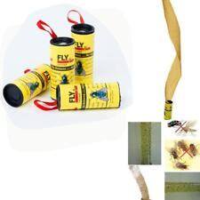 4 Rolls Insects Glue Tape Strips Paper Catcher Ribbon Tape Sticky Flies H WXXX