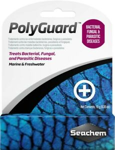 Seachem PolyGuard 10 g/0.4oz   Free Shipping