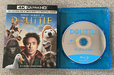 Dolittle (Blu-Ray Disc ONLY, 2020 + Slipcover/Blank Case) NEVER VIEWED! SEE INFO