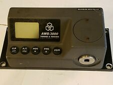 AWS AWS-3000 UTS-3050 BENCH MOUNT TORQUE TENSION TESTER MAX. 460.8 KG CM RS-232