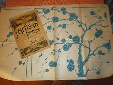 L'Artisan Pratique N°148 REVUE 1921 ART DÉCO patron Gravures Modèles