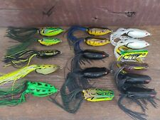 SPRO Dean RojasFrog Topwater Lure Lot Of 16 SPRO Frogs