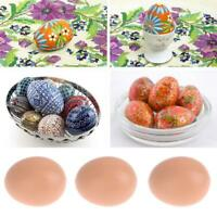 Fake Dummy Egg Hen Poultry Chicken Joke Prank Plastic Eggs Party Decor x5/10/20