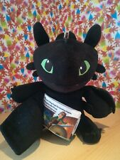 Rare Zoobies Soft Toy How To Train your Dragon Toothless Story Book Collectable