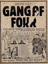 Gang Of Four UK Solid Gold Tour Advert 1981 MM-DEUI
