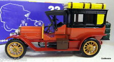 Rio 1/43 Scale 33 1908 Mercedes Limousine 70 CV Red/black diecast model car