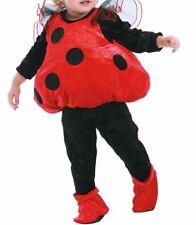 Cute Ladybug Infant, Toddler Halloween Costume 1-2 Years Vest, Booties #5583