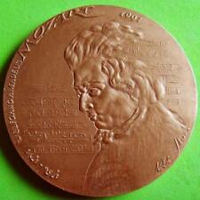 L@@k Classical Music Famous Austrian Composer W.A.Mozart Bronze Medal by IBORRA!