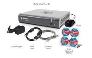 Swann DVR8-4575 8 Channel HD 1080p DVR AHD TVI 1TB HDD CCTV Recorder HDMI VGA