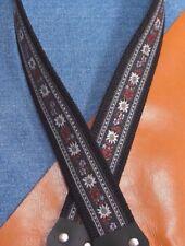 WILDFLOWER Cotton USA - made A & F-style TROPHY Mandolin Strap