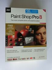 Jasc Paint Shop Pro 8 (New Factory Sealed Retail Box)