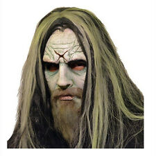 Rob Zombie Adult Costume Mask with Hair Trick Or Treat Studios JMGM100