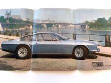 Monteverdi 375 375L High Speed Original Car Sales Brochure - 1971 1972 1970