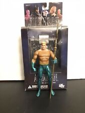 DC DIRECT JUSTICE SERIES 2 AQUAMAN LOOSE + TRIDENT + BASE + Packaging ALEX ROSS