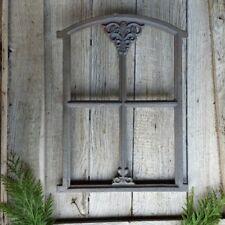 Stallfenster, Gusseisen, Gussfenster, Fenster antik mit Ornamenten, Mauerfenster