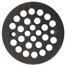 Designers Impressions Oil Rubbed Bronze Screw-In Shower Drain Strainer #651731