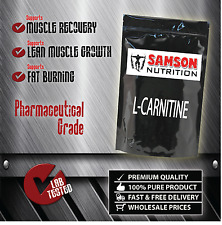 L- CARNITINE 1kg PURE POWDER PREMIUM QUALITY UNFLAVOURED *FAT BURNER*