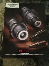 1995 Hornaday Bullets Ammo Reloading Equipment Accessories Catalog